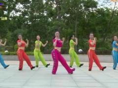 杨丽萍广场舞《亲爱的姑娘》原创舞蹈 团队演示 附正背面口令分解教学